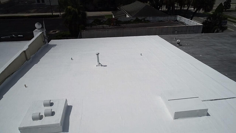 After Flat Roof Replacement