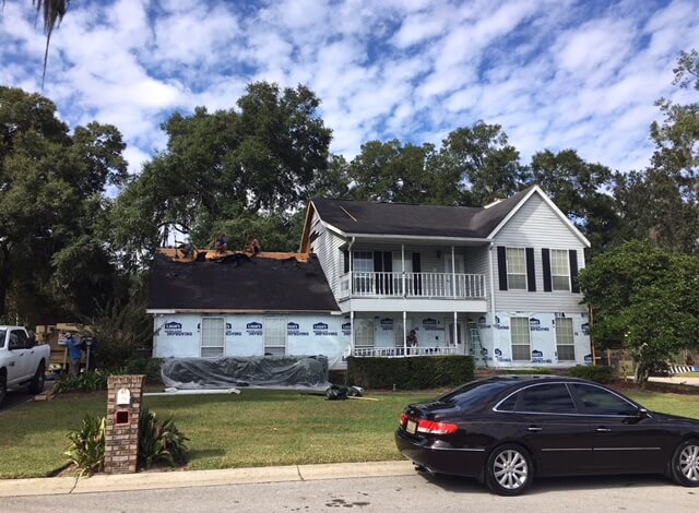 Old Roof Replacement